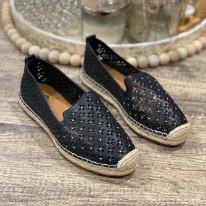 🆕 Patricia Nash Elena Leather Espadrille Flats